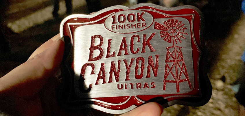 Black Canyons 100k Buckle